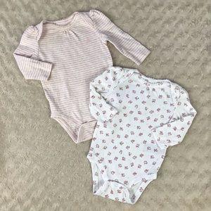 Baby Gap Bodysuit Bundle Size 3-6 Months Floral